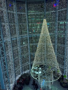 Blogmas – Evening in the mall!