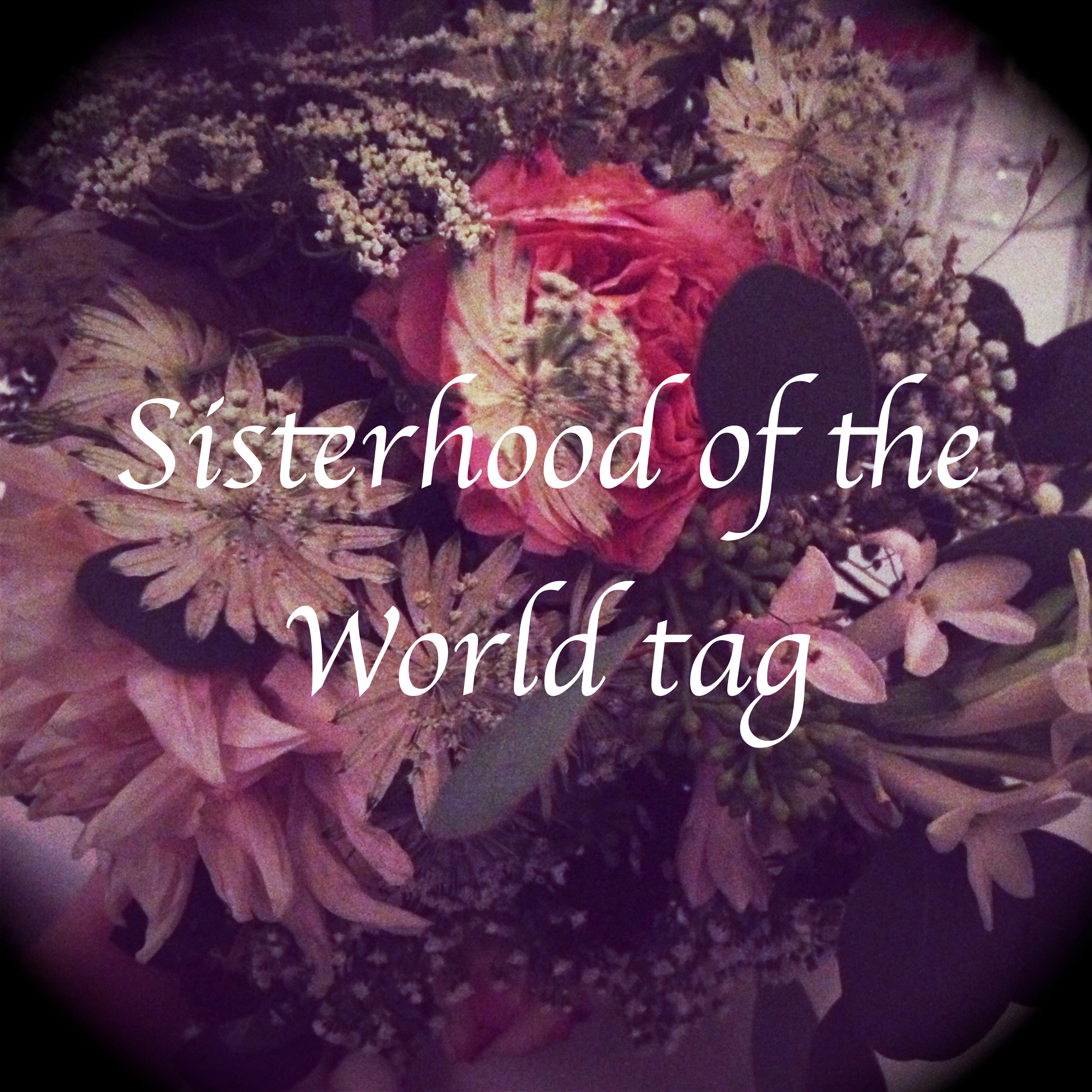 Sisterhood of the World tag!
