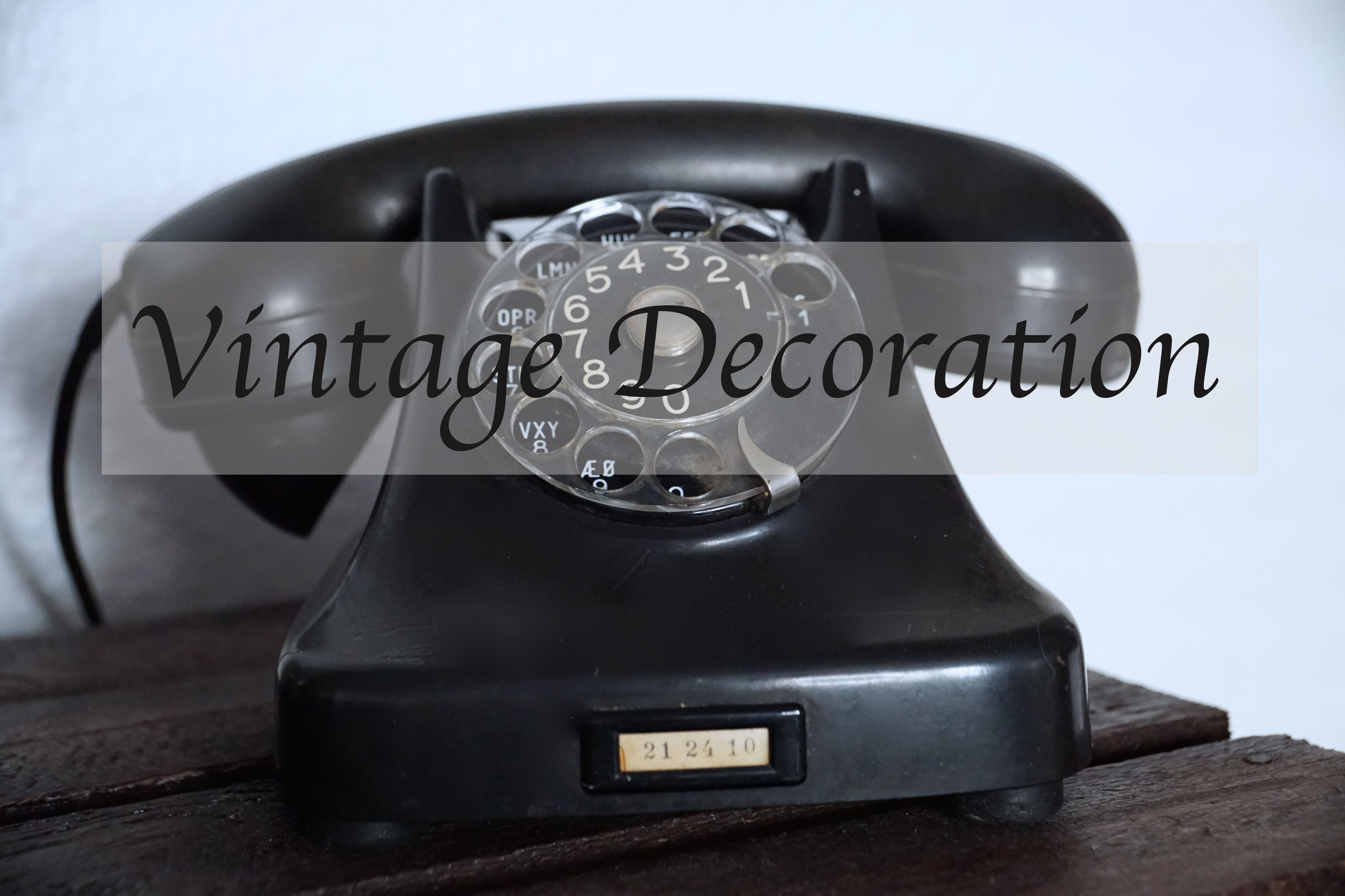 Vintage Decoration