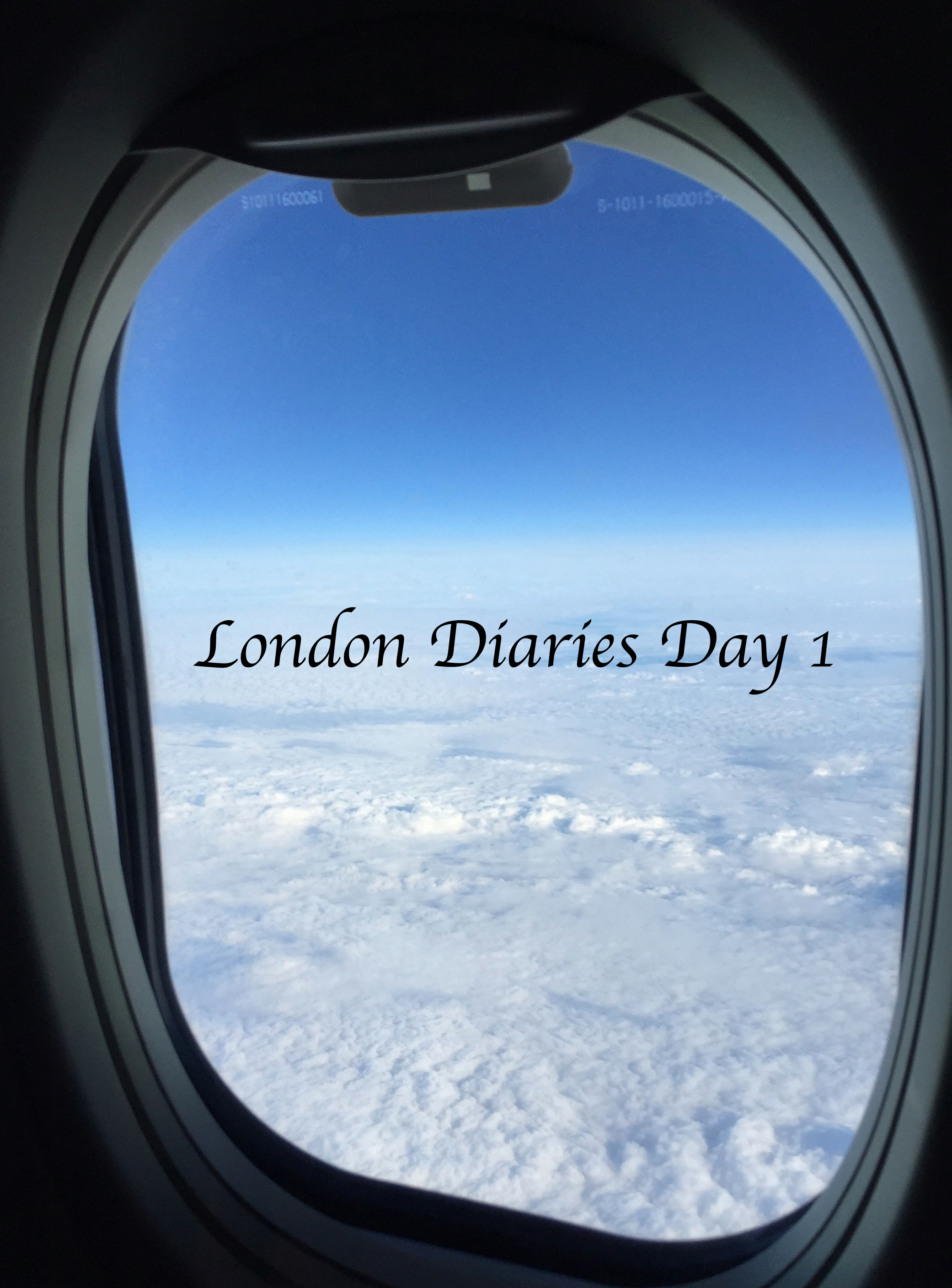 London Diaries Day 1.